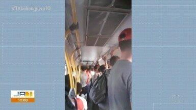 Passageiros reclamam das condições do transporte coletivo em Palmas - Passageiros reclamam das condições do transporte coletivo em Palmas