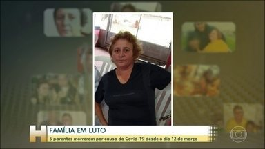 Filha da primeira mulher que morreu por Covid-19 no Brasil conta como foram os sintomas - Dona Rosana Aparecida Urbano morava em São Paulo e tinha 57 anos.