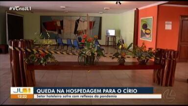 Setor hoteleiro de Belém sofre com os reflexos da pandemia durante o Círio - Setor hoteleiro de Belém sofre com os reflexos da pandemia durante o Círio