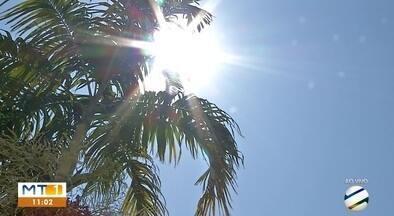 Rondonópolis chegou aos 40º nesta quarta-feira; umidade relativa do ar muito baixa - Rondonópolis chegou aos 40º nesta quarta-feira; umidade relativa do ar muito baixa