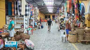Mercados voltam a funcionar em Aracaju - Mercados voltam a funcionar em Aracaju.