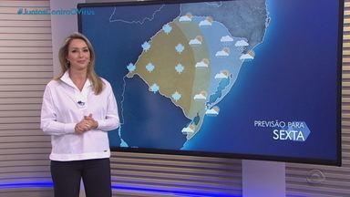 Deve nevar na Serra nesta quinta-feira (20) no RS - Assista ao vídeo.