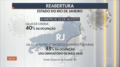 Governo do RJ anuncia a retomada das aulas presenciais já em setembro - O decreto foi publicado nesta quarta-feira.