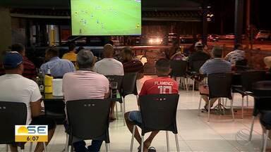 Veja como foi o retorno de bares e restaurantes em Sergipe - Veja como foi o retorno de bares e restaurantes em Sergipe.
