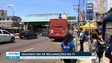 Segundo dia de interdição do T1 gera novas reclamações - IMMU anuncia medidas para amenizar dificuldades dos passageiros durante obras