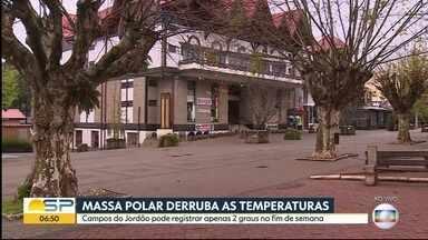 Frio que estava no sul do país chega à SP - Sexta-feira amanhece com temperaturas baixas.
