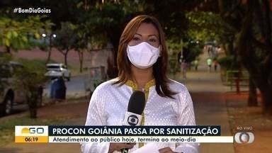 Procon tem horário de atendimento reduzido nesta sexta-feira, em Goiânia - Atendimento será das 8 às 12h.
