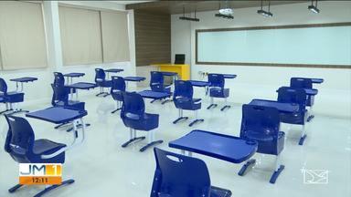Escolas particulares se preparam para voltar a funcionar em Balsas - A cidade ainda enfrenta o pico da pandemia, mas tem redução na ocupação de leitos.