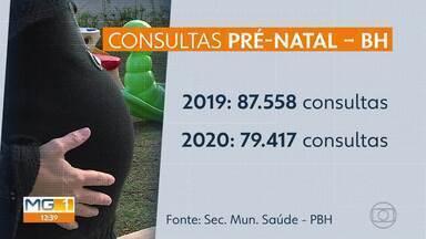 Gestantes estão procurando menos os centros de saúde da capital - A preocupação é com a contaminação pleo novo coronavírus.
