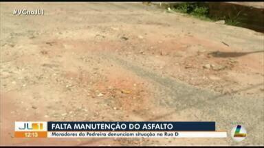 Moradores denunciam situação precária da rua D no bairro da Pedreira, em Belém - Moradores denunciam situação precária da rua D no bairro da Pedreira, em Belém