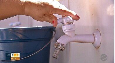 Moradores sofrem com falta de água em Rondonópolis; MT1 cobrou SANEAR - Moradores sofrem com falta de água em Rondonópolis; MT1 cobrou SANEAR