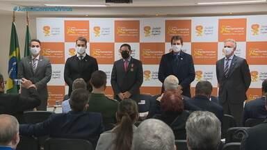General Mourão visita Instituto do Câncer Infantil em Porto Alegre - Assista ao vídeo.