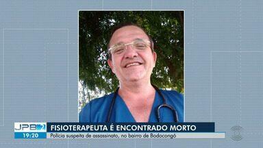 Fisioterapeuta é encontrado morto dentro do apartamento onde morava, em Campina Grande - O caso aconteceu no bairro de Bodocongó. Polícia suspeita de assassinato.