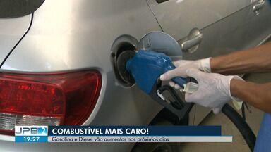 Combustível vai ficar mais caro na Paraíba - Gasolina e Diesel vão aumentar nos próximos dias.