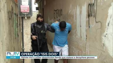 Suspeitos de decapitar e esquartejar inocentes são presos em Campos, no RJ - Prisões foram feitas durante operação em Guarus na manhã desta sexta-feira (21).