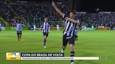 Fluminense precisa vencer Figueirense para avançar na Copa do Brasil - No jogo de ida, tricolor perdeu por 1 a 0