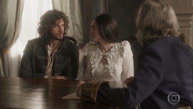 Anna e Joaquim não conseguem retirar o nome de Thomas do registro de Vitória - O ministro sugere que Joaquim adote a menina no prazo de 7 anos, quando Thomas será declarado morto