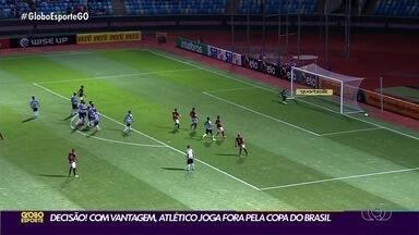 Em Porto Alegre, Atlético-GO se prepara para Copa do Brasil - Dragão tem vantagem de 2 a 0 do primeiro jogo