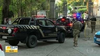 PF faz buscas na residência oficial do governo do RJ - Equipes cumprem mandados de busca e apreensão no Palácio Laranjeiras.