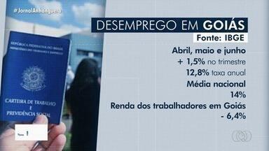 Taxa de desemprego sobe em Goiás - Dados foram divulgados pelo IBGE.