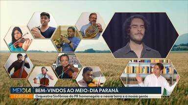 Orquestra Sinfônica do PR homenageia a nossa terra e a nossa gente - Agropecuária é o único setor em alta na economia