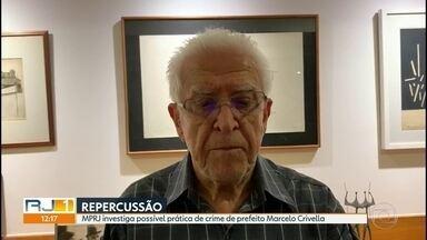 MP investiga possível prática de crime do prefeito Marcelo Crivella - Além de associação criminosa, o Ministério Público também vai avaliar a prática de conduta criminosa.