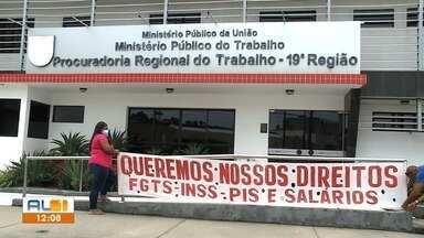 Funcionários da Veleiro se reúnem com MPT para discutir pagamentos atrasados - Eles esperam uma solução para os salários e demais encargos.