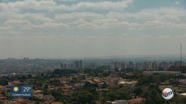 Confira a previsão do tempo para esta terça-feira (1º) na região de Ribeirão Preto - Temperaturas altas e umidade baixa prevalecem na maioria das cidades.
