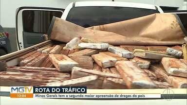 MG é o segundo estado com maior apreensão de drogas no Brasil no primeiro semestre de 2020 - Foram 195 toneladas de drogas apreendidas no estado no primeiro semestre deste ano.