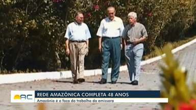 Rede Amazônica comemora 48 anos de fundação - Rede Amazônica comemora 48 anos de fundação