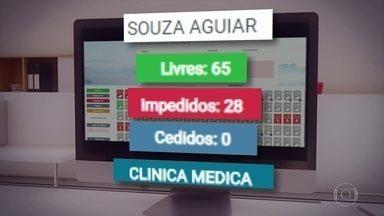386 leitos estão fechados na rede municipal - Faltam principalmente técnicos de enfermagem para que os leitos possam receber pacientes