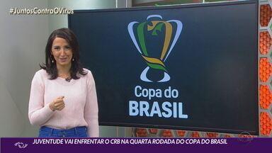 Juventude joga contra o CRB na 4º fase do Brasileirão - Time enfrenta o Chapecoense nesta terça-feira (1).