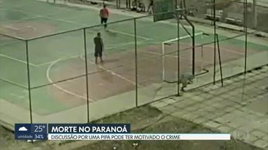 Homem morre assassinado enquanto jogava bola no Paranoá - Segundo a polícia, a vítima e o autor dos disparos teriam discutido dias antes por causa de uma pipa.