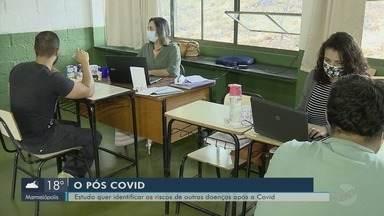 Estudo quer identificar os riscos de outras doenças após a Covid-19 - Estudo quer identificar os riscos de outras doenças após a Covid-19