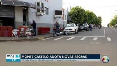 Monte Castelo adota novas regras para funcionamento do comércio - Medidas foram publicadas em um novo decreto da Prefeitura.