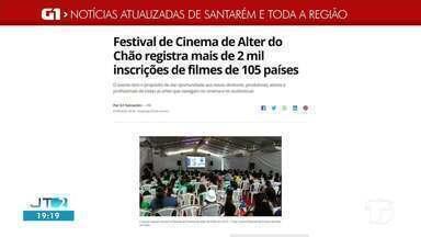 Confira as notícias que em destaque no G1 Santarém e região - Acesse as reportagens completas no g1;com.br/tvtapajos