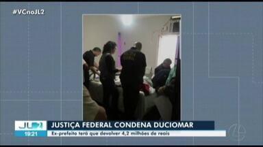 Justiça Federal condena ex-prefeito de Belém, Duciomar Costa - Justiça Federal condena ex-prefeito de Belém, Duciomar Costa