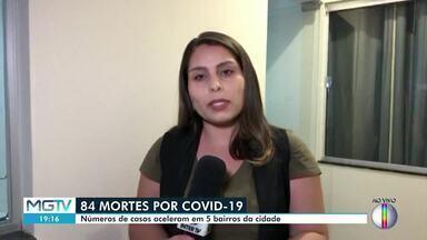 Montes Claros chega a 3.550 casos da Covid-19 - Número de mortes por conta da doença subiu para 84.