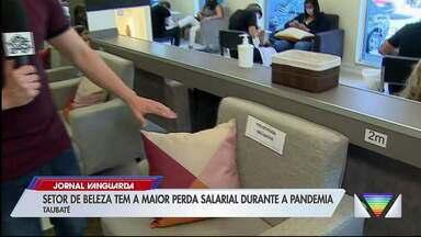 Profissionais de salões de beleza reclamam de baixo movimento mesmo após relaxamento - Pesquisa do Ipea aponta que setor é um dos mais prejudicados pela pandemia