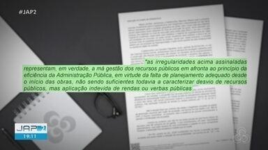 Juiz absolve réus acusados de desviar recursos da obra da ponte que ligaria o Amapá e Pará - Juiz absolve réus acusados de desviar recursos da obra da ponte que ligaria o Amapá e Pará