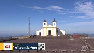 Santuário de Nossa Senhora da Piedade será reaberto para visitação - O local está fechado desde março, por causa da pandemia de Covid-19. As visitas devem ser agendadas.