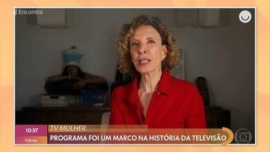 Marília Gabriela e Irene Ravache comemoram os 40 anos do 'TV Mulher' - Programa inovou na TV com sua forma ousada e direta para tratar assuntos femininos. Tati Machado também mostra que as trancinhas estão fazendo a cabeça das famosas