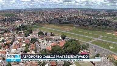 Aeroporto Carlos Prates será desativado, em Belo Horzionte - Anúncio foi feito pelo ministro da Infraestrutura, Tarcísio Gomes de Freitas, em uma reunião com deputados mineiros. Por conta do registro de vários acidentes com aviões, a desativação já era uma reivindicação de moradores da região Noroeste, da capital.
