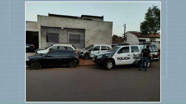 Quadrilha que furtava carros foi desmantelada em Umuarama - Eles furtavam os carros em Umuarama e levavam pra Campo Mourão onde eram adulterados.