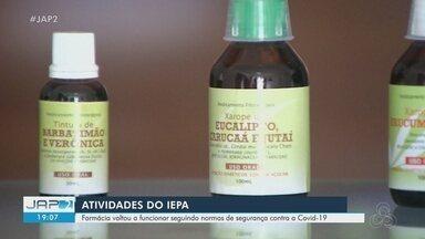 Farmácia do Iepa reabre com produtos naturais da Amazônia - Farmácia do Iepa reabre com produtos naturais da Amazônia