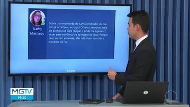 Veja as mensagens enviadas pelos telespectadores no MG2 - Mensagens podem ser enviadas para (38)98834-3348.