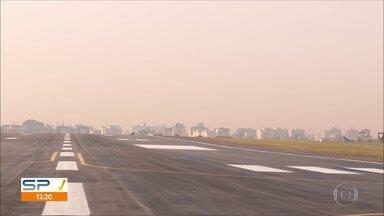 Pista principal de Congonhas será reaberta domingo - Aeroporto ganhou novo asfalto para dar mais segurança