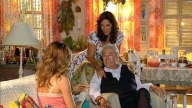 Samuel e Ester planejam o jantar de noivado - Enquanto isso, Cassiano trabalha na mina do mafioso
