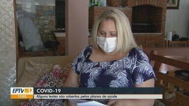 Paciente com plano de saúde tem direito de fazer testes para detectar Covid-19 - Pedido tem que ser feito por médico, diz ANS.