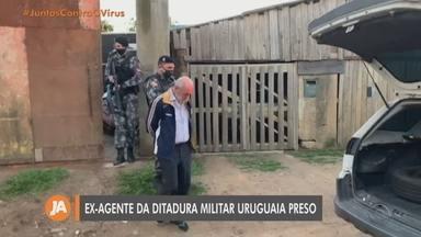 Ex-agente da ditadura militar uruguaia é preso em Viamão - Mário Ronald Barreiro estava sendo monitorada pela inteligência da Brigada Militar.